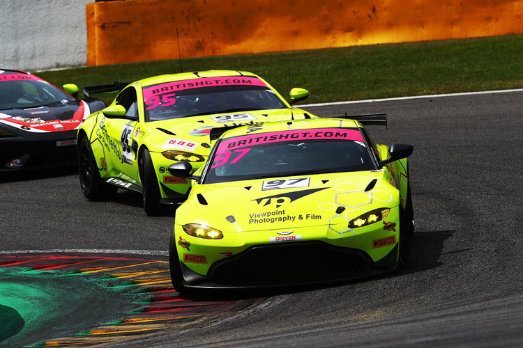 Ash Hand And Team Top GT4 Driver Championship For Final Race